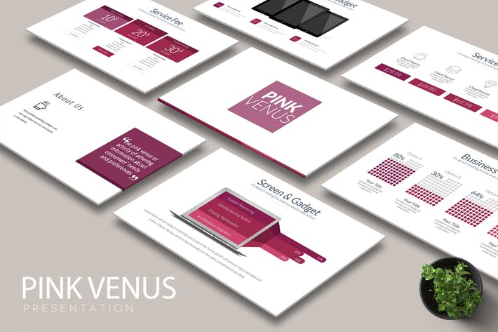 Thumbnail for PINK VENUS Keynote