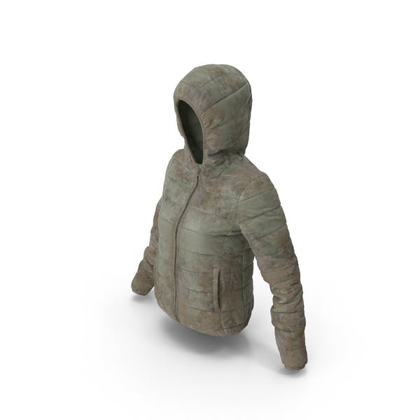Thumbnail for Women's Down Jacket Dirty