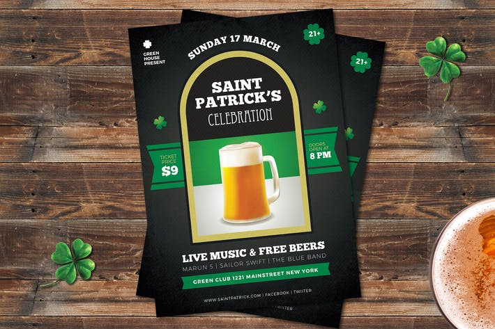Thumbnail for Saint Patrick Flyer