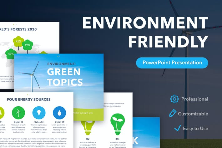 Thumbnail for Environment Friendly PowerPoint Template
