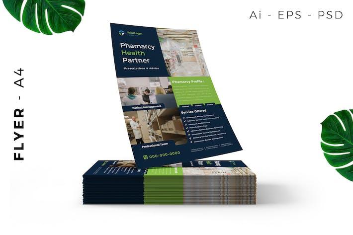 Thumbnail for Pharmaceutical Flyer Design