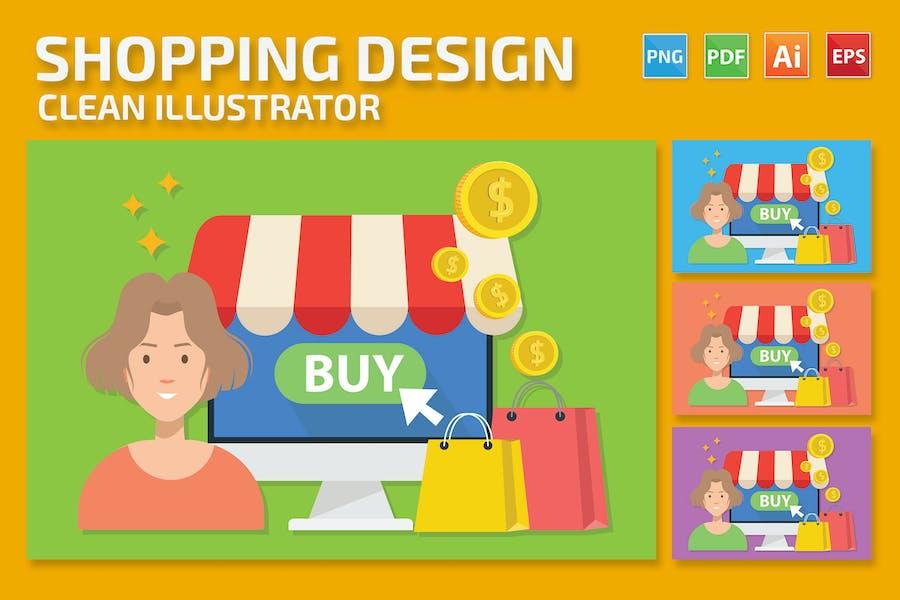 Shopping-Design