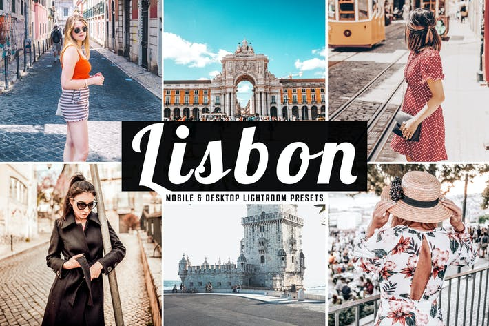 Thumbnail for Lisbon Mobile & Desktop Lightroom Presets