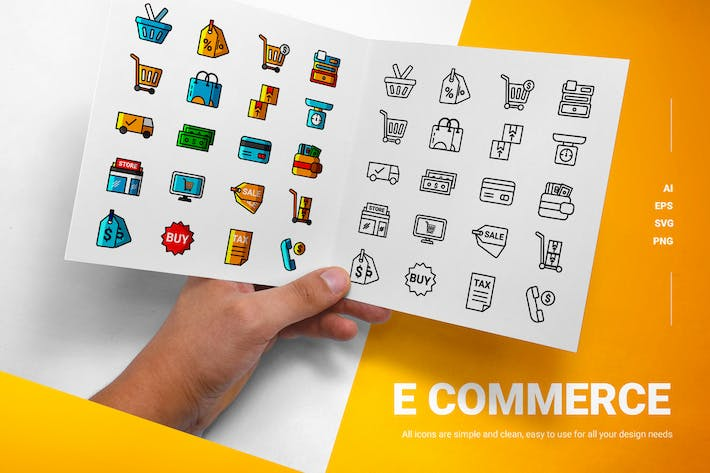 E Commerce - Icon