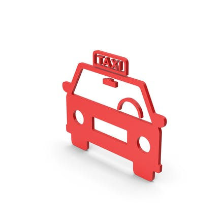 Symbol Taxi Red