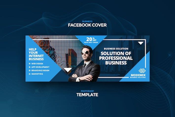 Modemix Business Facebook Cover Template
