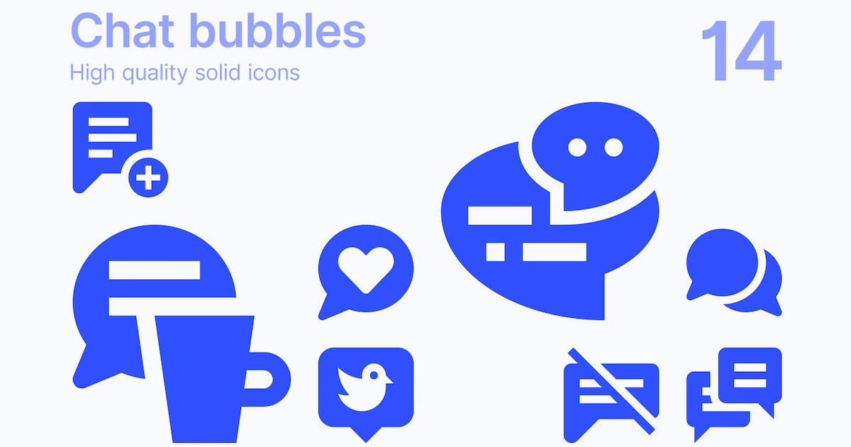 Download Chat Bubble Icons by polshindanil