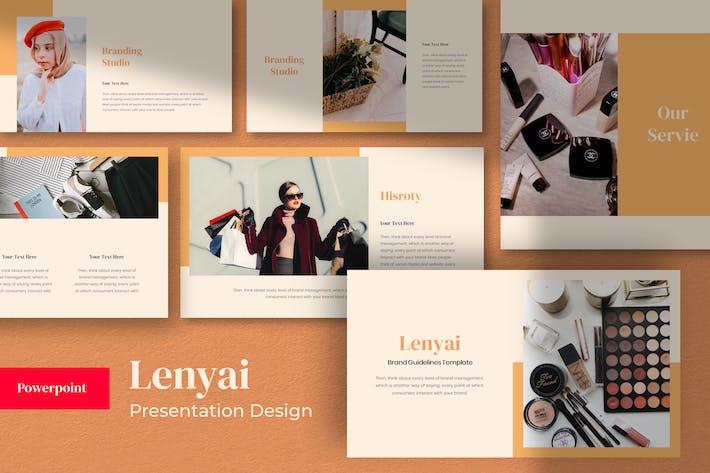 Thumbnail for Lenyai Шаблон презентации Powerpoint