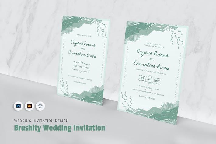 Thumbnail for Brushity Hochzeitseinladung