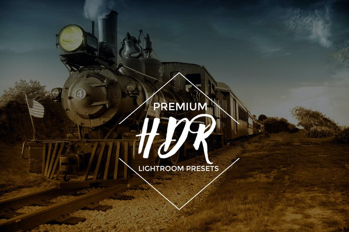 Cover Image For HDR Lightroom Presets  Vol. 1