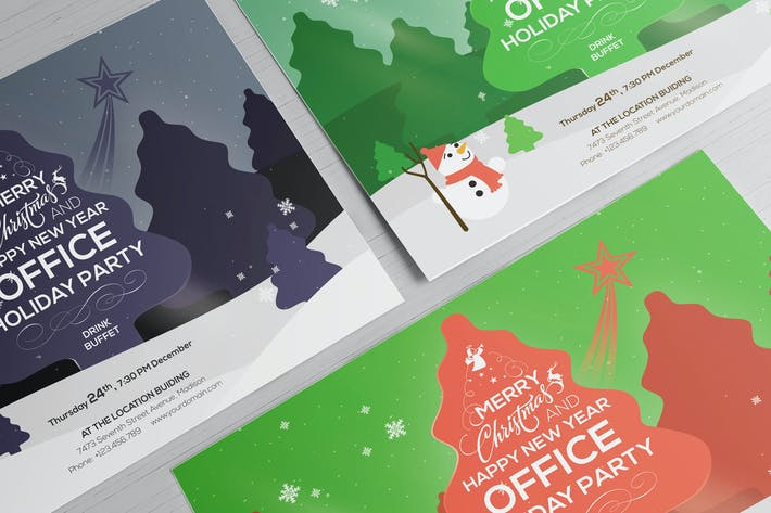 Office holiday party flyer template by wutip on envato elements cover image for office holiday party flyer template maxwellsz