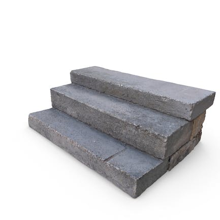 Stone and Concrete Steps