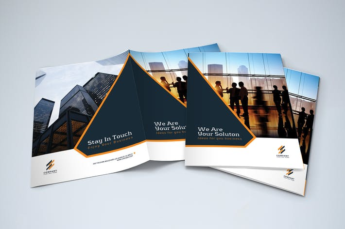 Thumbnail for Bifold Modern Business Brochure
