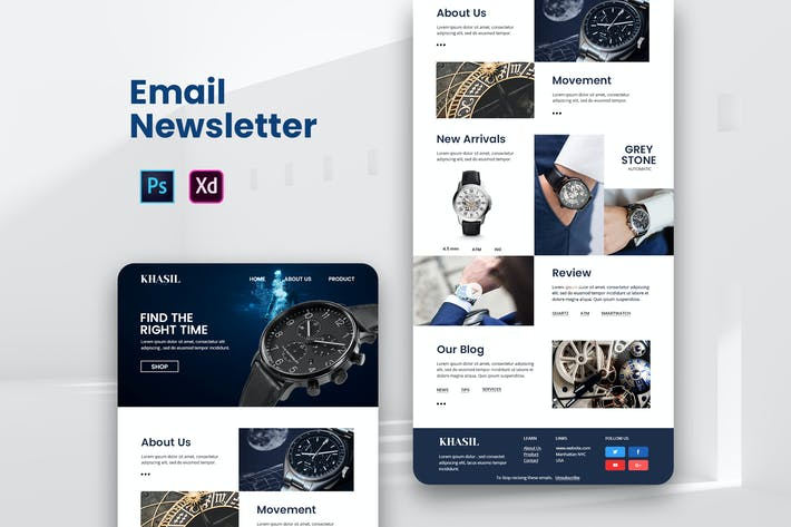 Thumbnail for Man Watches Email Newsletter