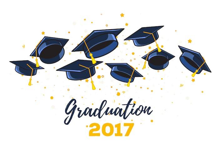 Graduation illustrations
