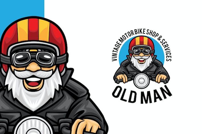 Thumbnail for Modèle de mascotte Logo de la boutique de moto