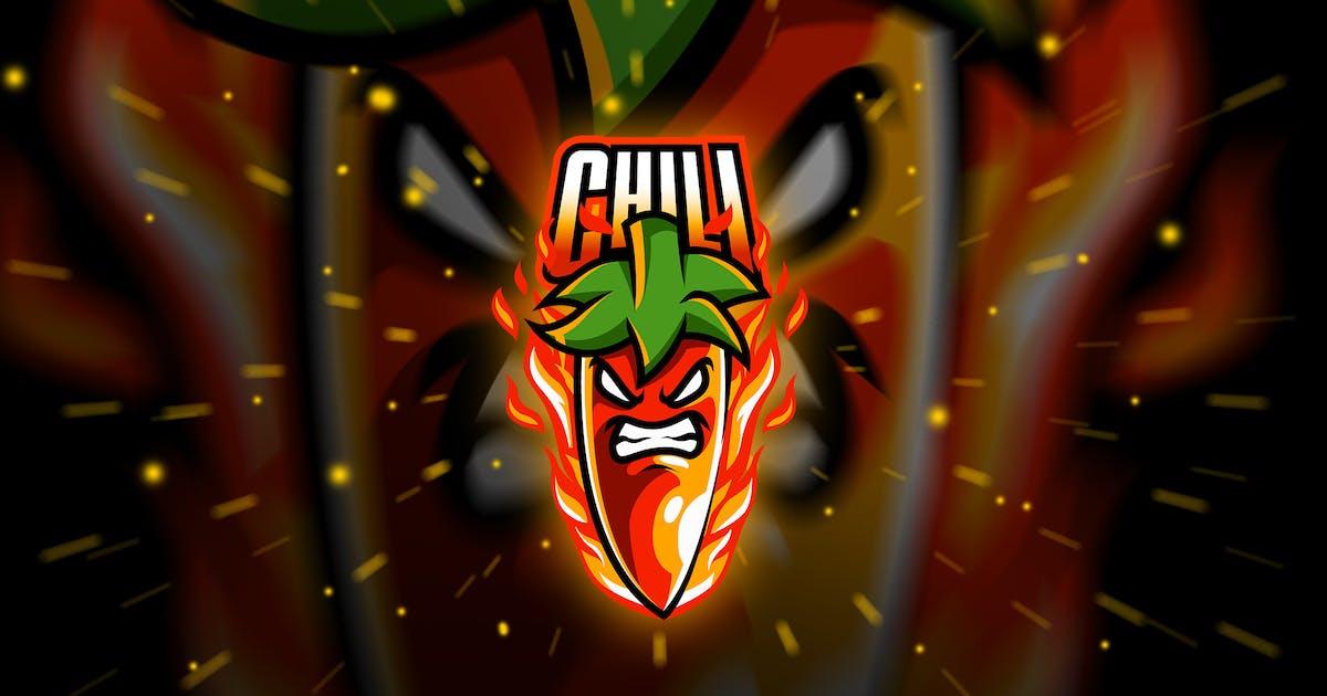 Download chili - Mascot & Esport Logo by aqrstudio