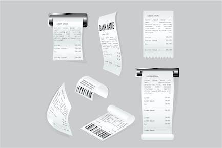 Realistische Papierdruckprüfungen