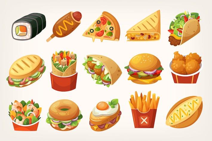 Fast-Food-Mahlzeiten