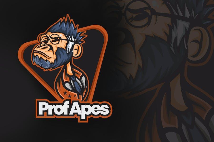 Prof Apes Esports Logo