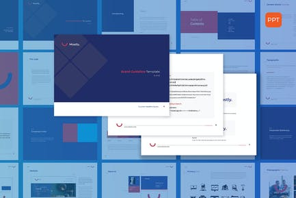Cleanest Brand Identity - Powerpoint