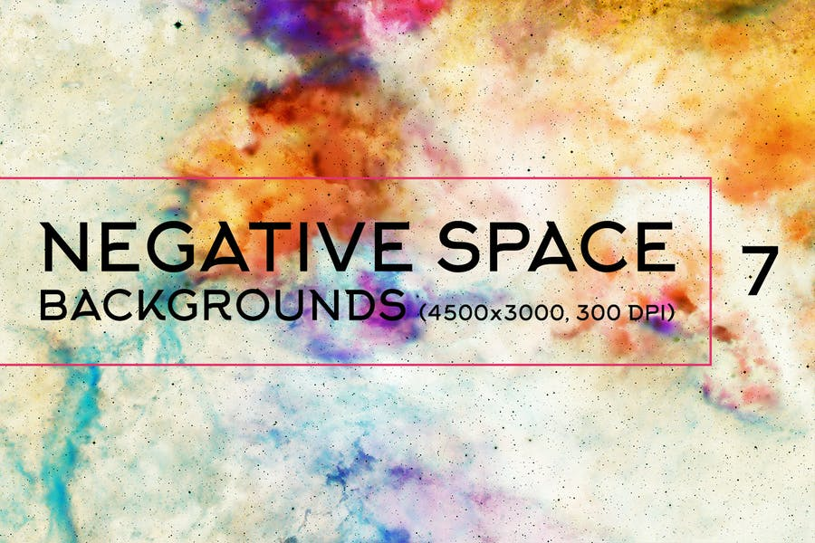 Negative Space Backgrounds Vol.7