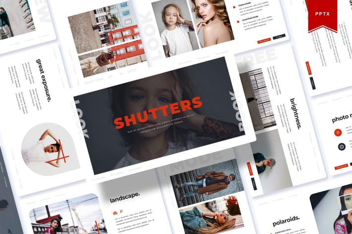 Thumbnail for Shutters | Powerpoint Template