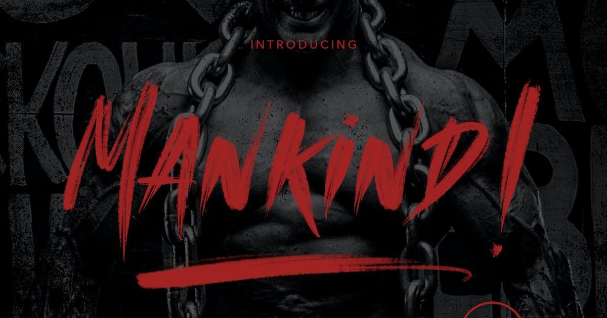 Download MANKIND - SVG Brush Font by maulanacreative