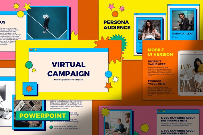Thumbnail for PowerPoint Präsentation für virtuelle Kampagnen
