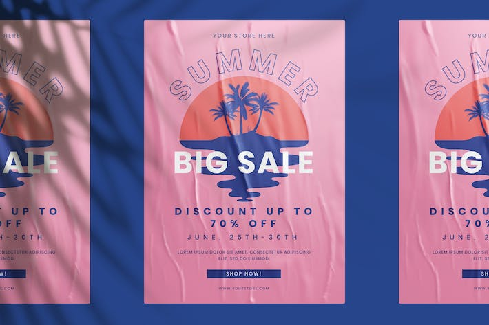 Thumbnail for Summer Big Sale Flyer