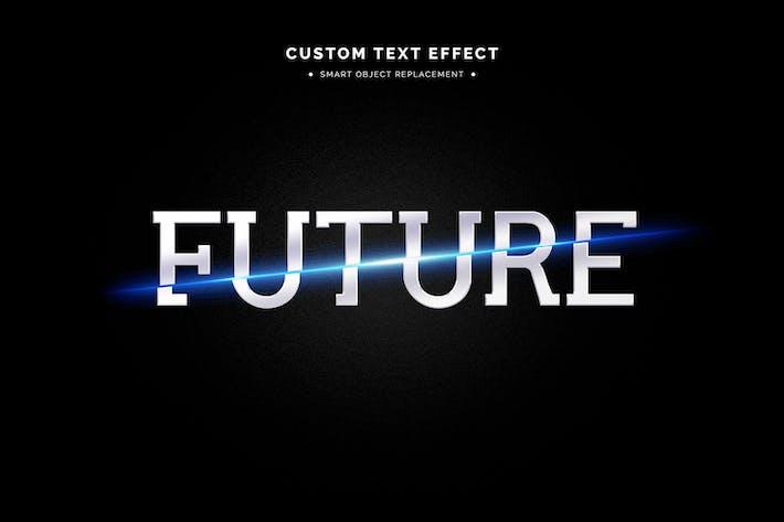 Sci Fi Text Effect Mockup