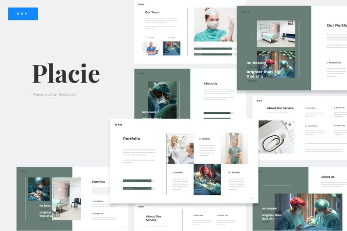 Placie - Medical Surgery Keynote Template