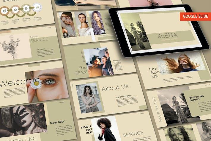 Thumbnail for XENNA Fashion - Google Slide