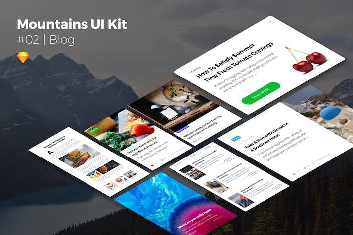 Thumbnail for Mountains UI Kits | Blog