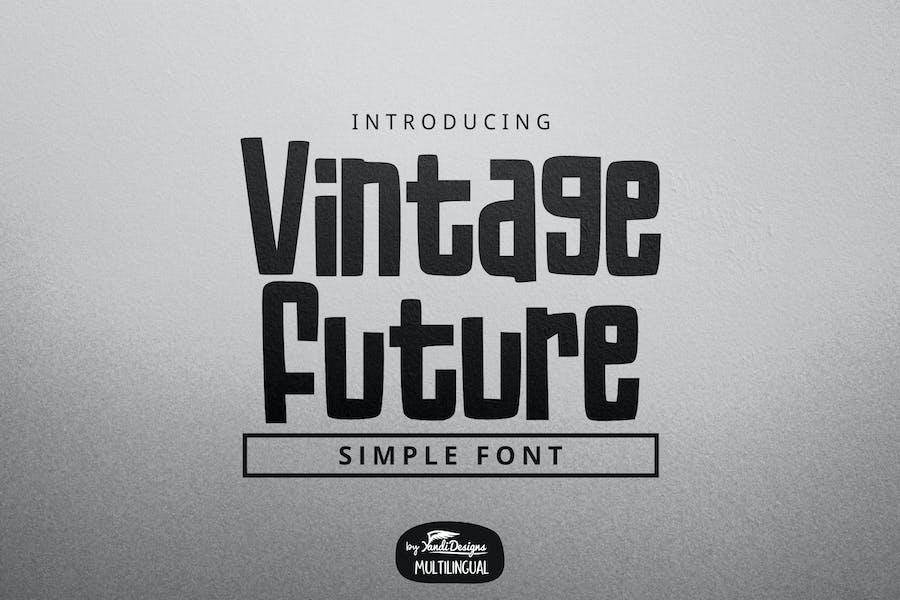 Vintage Future Font