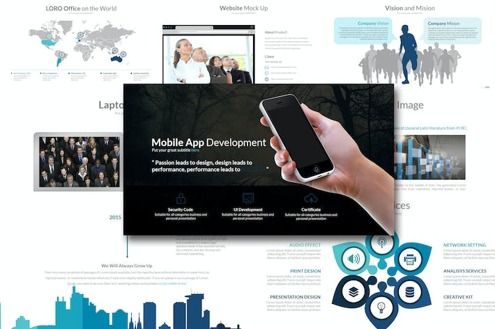 Thumbnail for Loro - Powerpoint Template