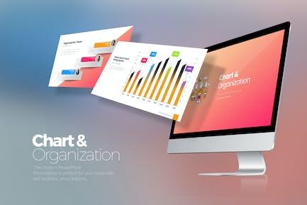 Chart & Organization Keynote Templates
