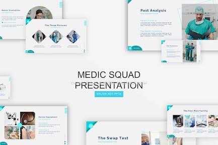 Medic Squad Presentation Template