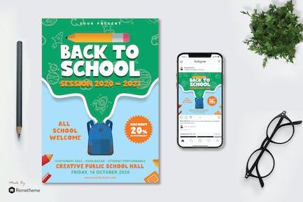 Back To School Flyer vol.01 TY