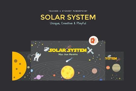Presentación de Educación del Sistema Solar