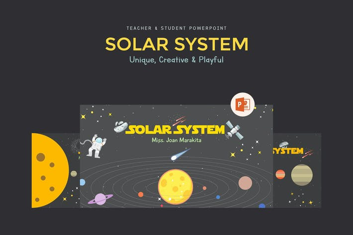 Cover Image For Solar System Education Presentation