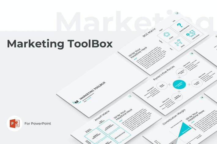 Thumbnail for Marketing Toolbox PowerPoint Template