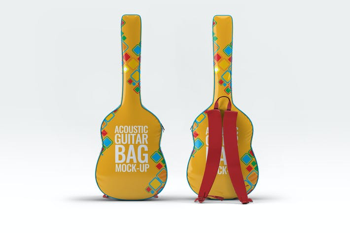 Thumbnail for Acoustic Guitar Bag Mock-Up