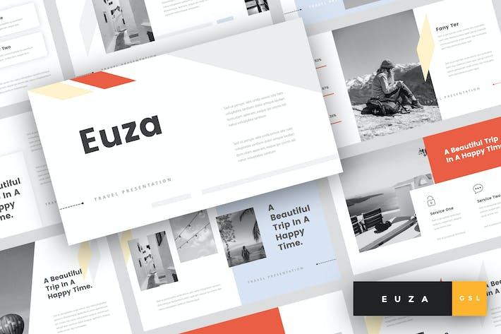 Thumbnail for Euza - Travel Google Slides Templates