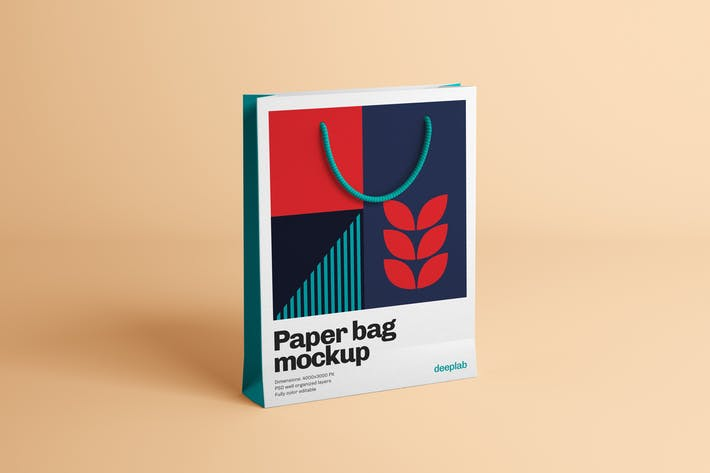 Thumbnail for Paper Bag Mockup