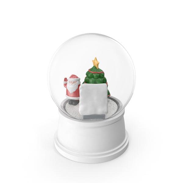Снежный глобус Рождественские украшения