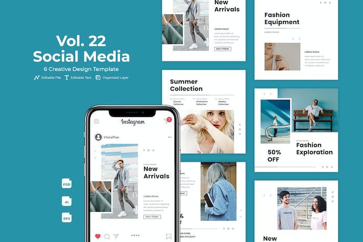 Thumbnail for Sekandi - Social Media Kit Vol. 22
