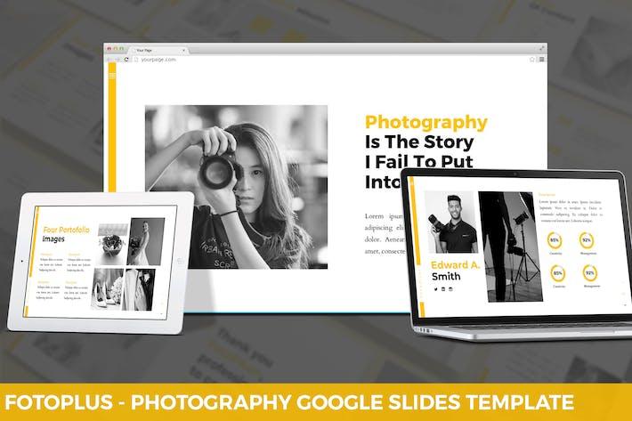 Thumbnail for Fotoplus - Фотография Google Слайды Шаблон