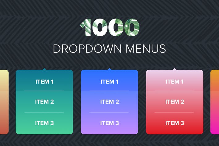 Thumbnail for 1000 Dropdown Menus