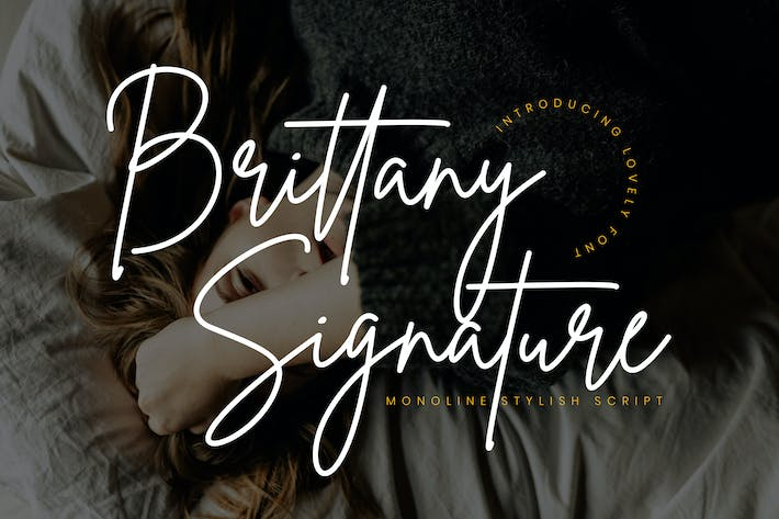 Thumbnail for Brittany Signature Script